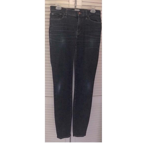 🆕 J Crew Lookout Hi-Rise Dark Wash Skinny Jeans